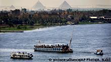 Ägypten Schifffahrt auf dem Nil
