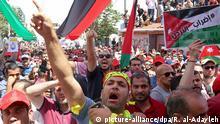Jordanien Proteste in Amman