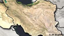 Iran Topografische Karte
