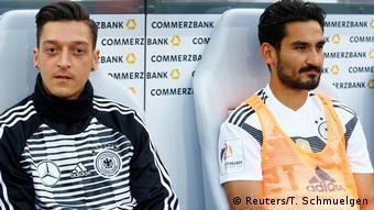 Mesut Özil y Ilkay Gündogan.