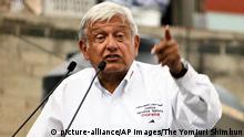 Mexiko Andrés Manuel López Obrador in Mexiko-Stadt