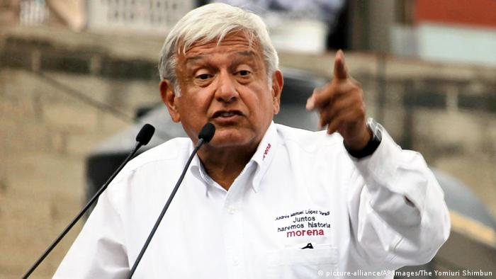 Andres Manuel Lopez Obrador, looking to make it third time lucky in the elections