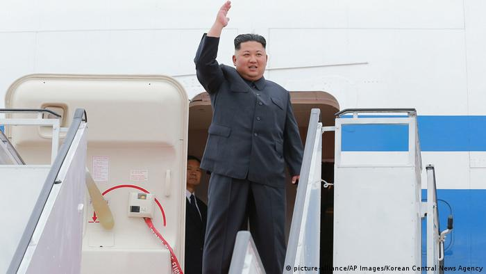 Nordkorea Kim Jong Un in Pjöngjang (picture-alliance/AP Images/Korean Central News Agency)