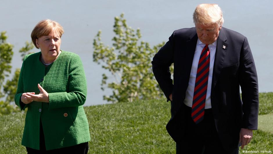 Chancellor Angela Merkel: Trump's rejection of G7 communique 'sobering' and 'depressing'