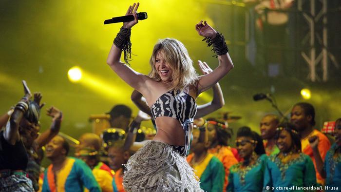 WM Hits: Shakira beim FIFA World Cup Kickoff Konzert Sowetos Orlando-Stadion