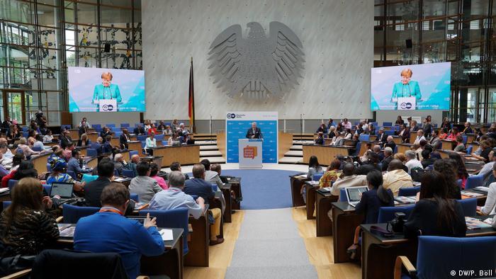 Ceremonia de deschidere a conferinţei GMF 2018