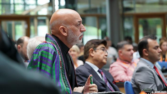 Opening ceremony / Hamid Karzai (Former President of Afghanistan, Afghanistan) in the audience (DW/P. Böll)