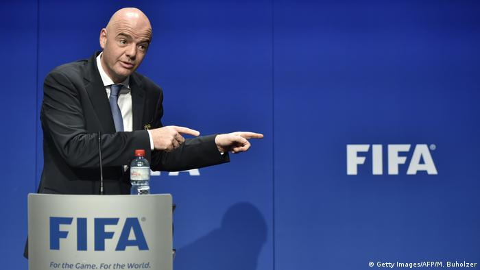 Gianni Infantino Fifa (Getty Images/AFP/M. Buholzer)