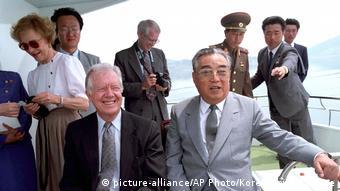Джимми Картер и Ким Ир Сен, июнь 1994 года