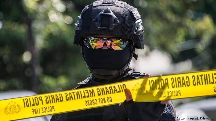 Indonesien Polizei Sondereinheit (Getty Images/J. Kriswanto)