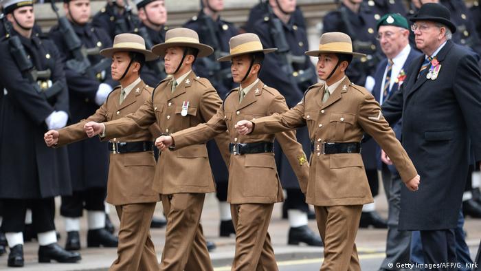 London Gurkha-Regiment (Getty Images/AFP/G. Kirk)