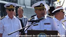 Seestreitkräfte Vize-Admiral Ihor Voronchenko