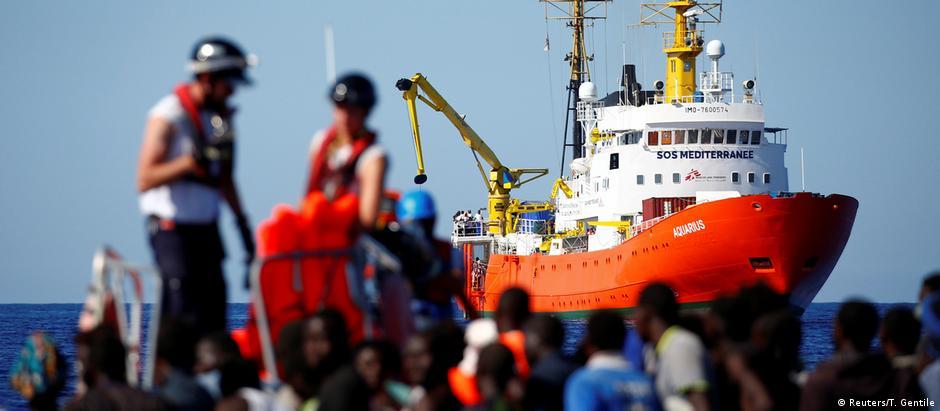 Γαλλοϊταλικές τριβές στο προσφυγικό