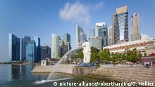 Singapur Merlion Statue, Marina Bay