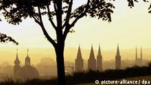 Würzburg im Morgendunst