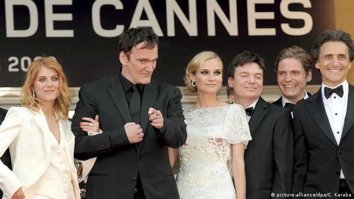 Тарантино на Каннском кинофестивале