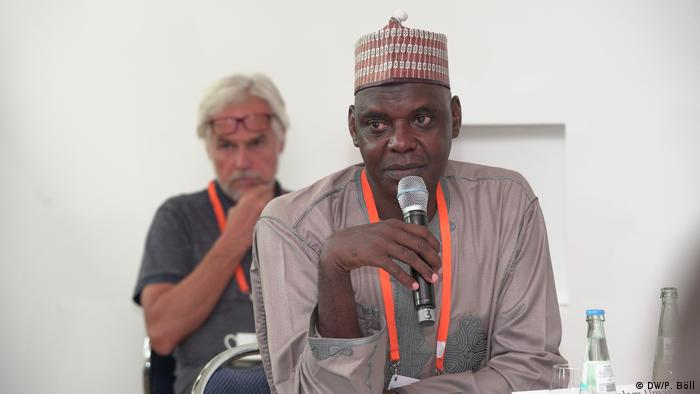 Malam Umar Sa'id Tudun Wada (Kano State Radio Corporation, Managing Director, Nigeria) | 09 | Session | Reporting terror: Who sees what, when and why? (DW/P. Böll)