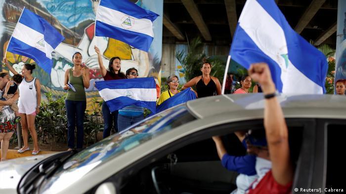 Protestas contra Daniel Ortega en Nicaragua. (2018).
