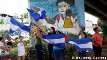 Nicaragua Managua Demonstration gegen Ortega