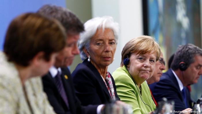 Deutschland Wirtschafts- und Finanzorganisationen bei Kanzlerin Merkel