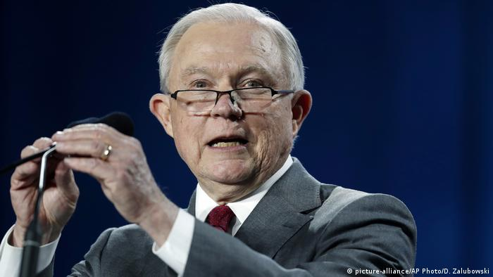 Jeff Sessions Justizminister USA
