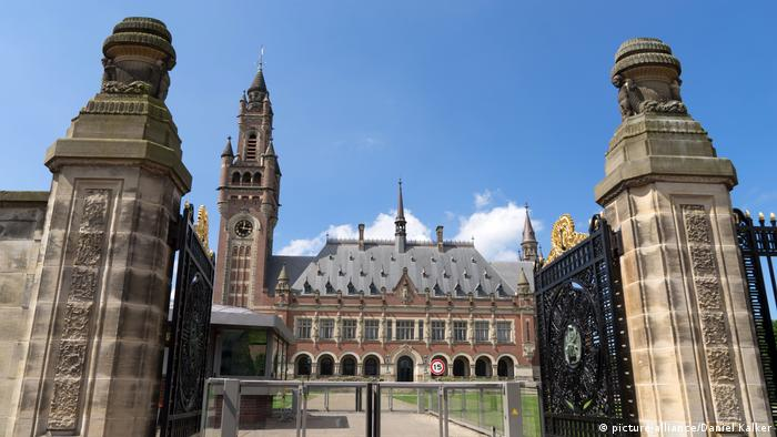 Дворец мира в Гааге, в котором работает Международный суд ООН