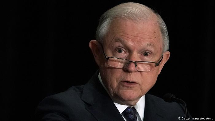 USA Justizminister Jeff Sessions Rede EOIR Training (Getty Images/A. Wong)