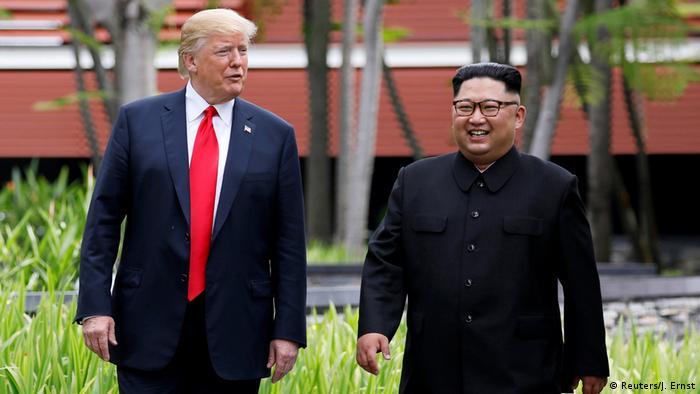 Donald Trump und Kim Jong Un (Reuters/J. Ernst)