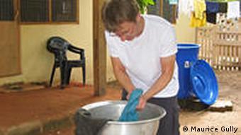 Wäsche waschen Ghana