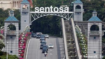 To θέρετρο Σεντόζα στη Σιγκαπούρη
