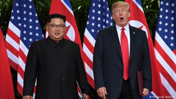 Singapur Gipfel Kim Jong Un Donald Trump (Reuters/A. Wallace)