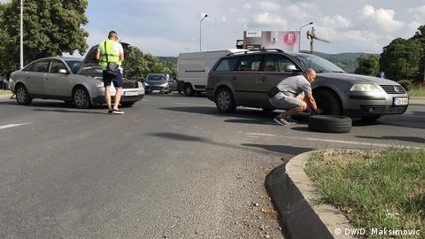 Bosnien Herzegowina - Proteste in Banjaluka wegen stark erhöhten Kraftstoffpreisen