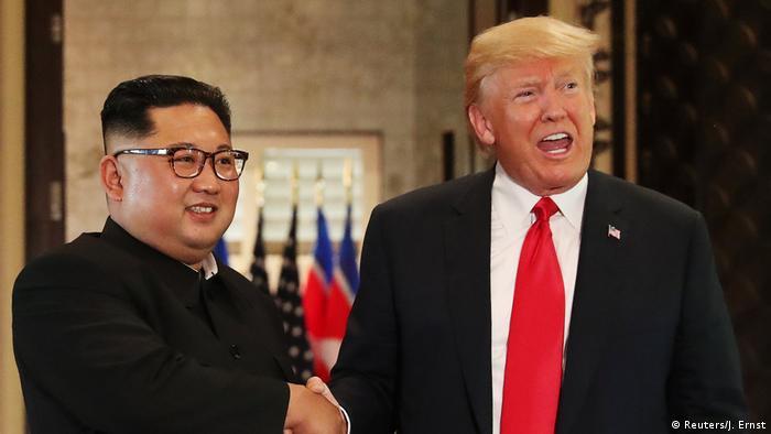 Bildergalerie Kim Trump (Reuters/J. Ernst)