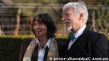 Peace Prize of the German Book Trade to Aleida und Jan Assmann (picture-alliance/dpa/C. Assmann)