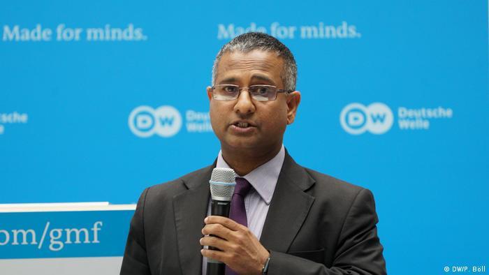 Ahmed Shaheed (Foto: DW/P. Böll)