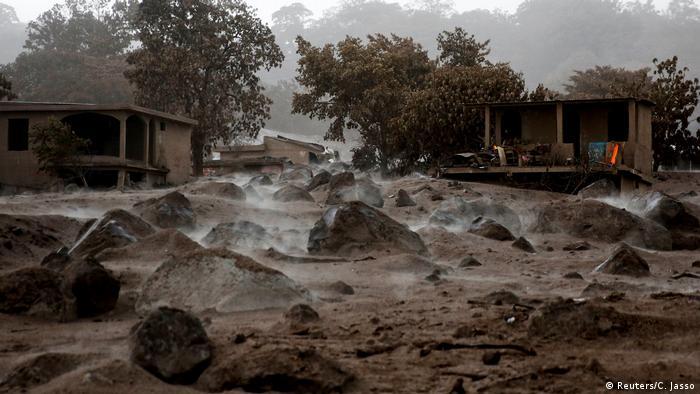Volcán de Fuego devastó muchas ciudades de Guatemala