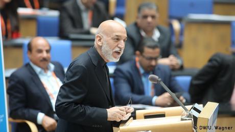Keynote: Hamid Karzai (Former President of Afghanistan, Afghanistan) (DW/U. Wagner)