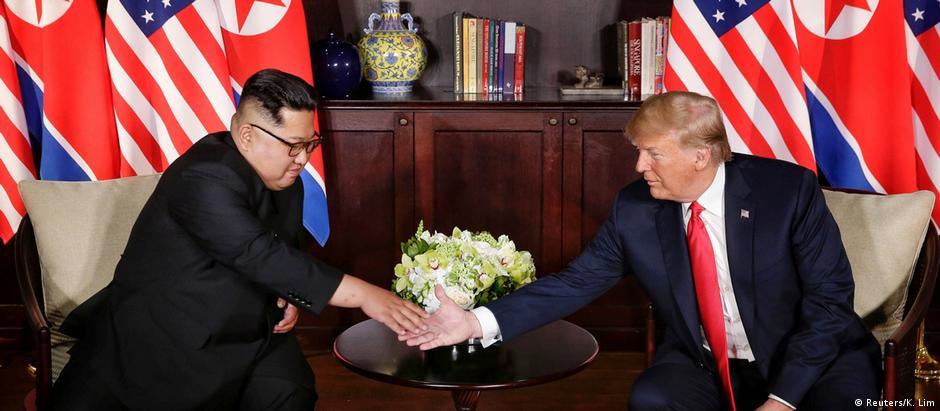 Histórico de confiabilidade de Kim e Trump não é dos melhores