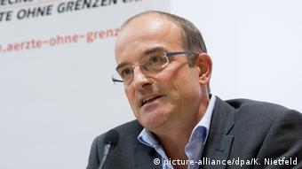 Deutschland Geschäftsführer der Ärzte ohne Grenzen Florian Westphal (picture-alliance/dpa/K. Nietfeld)