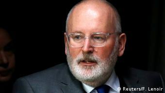 Belgien Vize-Präsident der EU-Kommission Frans Timmermans (Reuters/F. Lenoir)