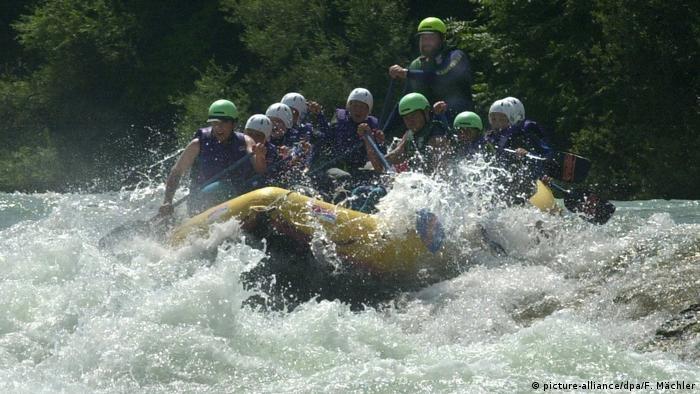 Turismo en Baviera, el río Isar