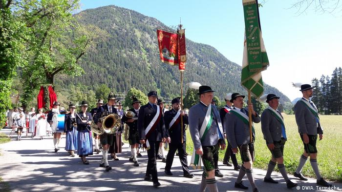 Turismo en Baviera, Corpus Christi en Walchensee