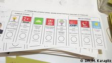 Deutschland Wahllokal der türkischen General Konsulat Köln