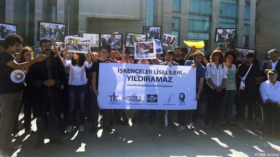 Lise öğrencileri polis işkencelerini yargıya taşıdı