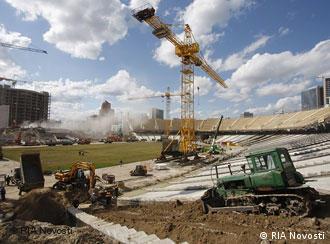 В Киеве готовятся к проведению ЧМ-2012