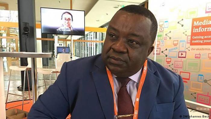 Virgilio Seriche Riloha vice-ministro da Comunicação Social da Guiné Equatorial