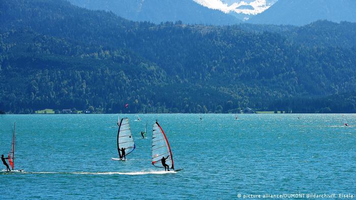 Turismo en Baviera, el lago Walchensee