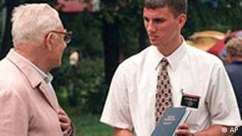 A Mormon missionary in Russia