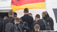WM 2018 Deutsche Fußball Nationalmannschaft DFB Abflug Frankfurt