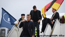 Fußball WM 2018: DFB Ankunft in Russland, 12.06.2018